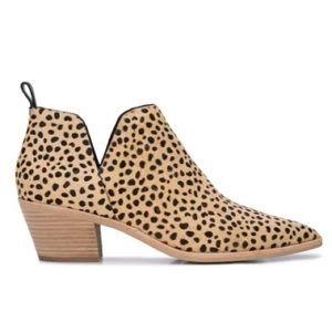 NWT Dolce Vita Sonni Leopard Calf Hair Ankle Boot